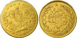 World Coins - Coin, Turkey, Abdul Hamid II, 25 Kurush, 1888/AH1293, Qustantiniyah,