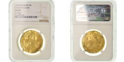 World Coins - Coin, German States, SAXONY-ALBERTINE, 2 Ducat, 1630, NGC, AU58, Gold, KM:421