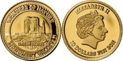 World Coins - Coin, Fiji, Elizabeth II, 10 Dollars, 2011, , Gold, KM:301