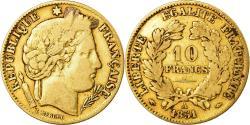 Ancient Coins - Coin, France, Cérès, 10 Francs, 1851, Paris, , Gold, KM:770