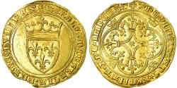 World Coins - Coin, France, Charles VI, Ecu d'or, , Gold, Duplessy:369