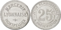World Coins - France, 25 Centimes, , Aluminium, Elie #330.3, 2.07