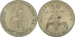 World Coins - Coin, New Caledonia, 50 Centimes, 1948, Paris, MS(60-62), Nickel-Bronze, KM:E1