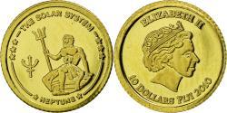 World Coins - Coin, Fiji, Elizabeth II, Neptune, 10 Dollars, 2010, Proof, , Gold