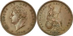 World Coins - Coin, Great Britain, George IV, Penny, 1826, London, , Copper, KM:693