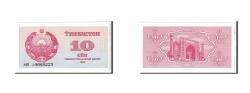 World Coins - Uzbekistan, 10 Sum, 1992, KM #64a, UNC(65-70), KB19893223