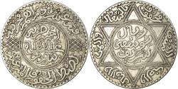 World Coins - Coin, Morocco, Yusuf, Rial, 10 Dirhams, 1912, bi-Bariz, Paris,