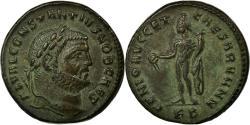 Ancient Coins - Coin, Constantius I, Follis, Kyzikos, AU(55-58), Copper, Cohen:58