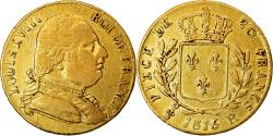 Ancient Coins - Coin, France, Louis XVIII, 20 Francs, 1815, London, , Gold, KM:1