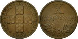 World Coins - Portugal, 10 Centavos, 1962, , Bronze, KM:583