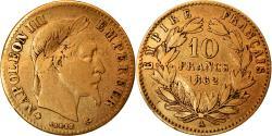 World Coins - Coin, France, Napoleon III, Napoléon III, 10 Francs, 1862, Paris,