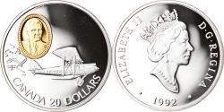 World Coins - Coin, Canada, Elizabeth II, 20 Dollars, 1992, Royal Canadian Mint, Ottawa, BE