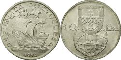 World Coins - Coin, Portugal, 10 Escudos, 1954, , Silver, KM:586