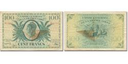French Equatorial Africa, 100 Francs, Marianne, VF(30-35), KM:13a