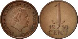 World Coins - Netherlands, Juliana, Cent, 1955, , Bronze, KM:180