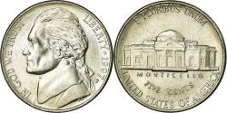 Us Coins - Coin, United States, Jefferson Nickel, 5 Cents, 1997, U.S. Mint, Philadelphia