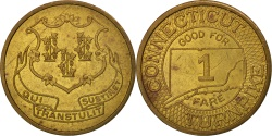 Us Coins - United States, Token, Connecticut Turnpike