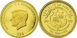 World Coins - Coin, Liberia, 25 Dollars, 2000, , Gold