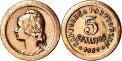 World Coins - Coin, Portugal, 5 Centavos, 1927, , Bronze, KM:572