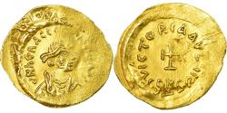 Ancient Coins - Coin, Heraclius, Tremissis, 610-641, Constantinople, Double-strike,