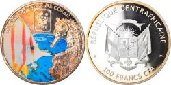 World Coins - Coin, Central African Republic, Great Barrier Reef, 100 Francs CFA, 2015, Proof