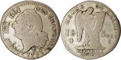World Coins - Coin, France, Louis XVI, 15 sols françois, 15 Sols, 1/8 ECU, 1791, Limoges