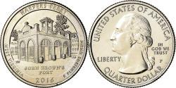Us Coins - Coin, United States, West Virginia, Quarter, 2016, Philadelphia,