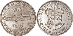 World Coins - Coin, South Africa, Elizabeth II, 5 Shillings, 1960, , Silver, KM:55