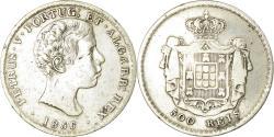 World Coins - Coin, Portugal, Pedro V, 500 Reis, 1856, , Silver, KM:494