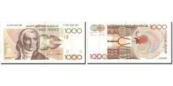 World Coins - Banknote, Belgium, 1000 Francs, Undated (1980-96), KM:144x2, EF(40-45)