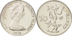 World Coins - Solomon Islands, 10 Cents, 1978, , Copper-nickel, KM:4