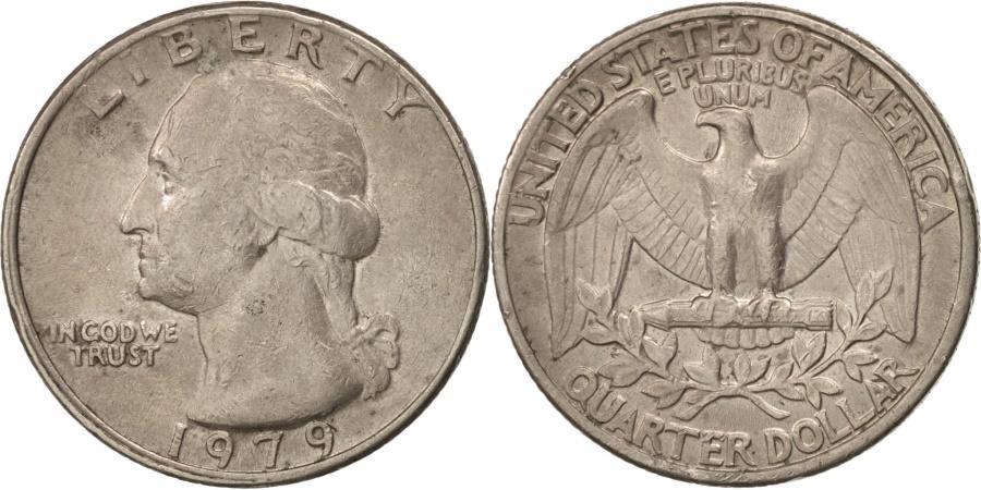 US Coins - United States, Washington Quarter, 1979, Philadelphia, , KM:A164a