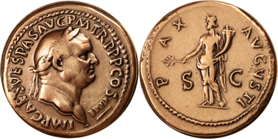 World Coins - FRANCE, History, French Fifth Republic, Medal, , Copper, 40, 50.00