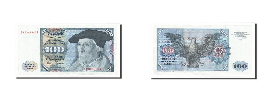 World Coins - GERMANY - FEDERAL REPUBLIC, 100 Deutsche Mark, KM:34d, 1980-01-02, EF(40-45)