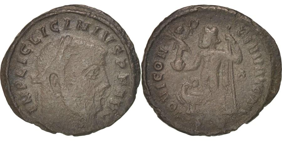 Ancient Coins - Licinius I (308-324), Follis, Siscia, RIC 229a