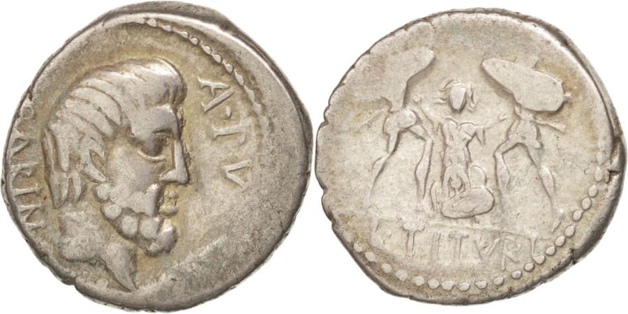 Ancient Coins - Tituria, Denarius, Rome, , Silver, 3.72