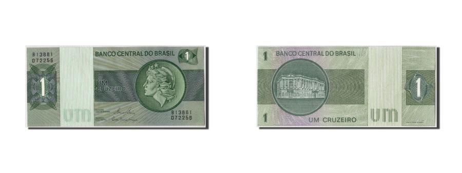 World Coins - Brazil, 1 Cruzeiro, Undated (1972-80), Undated, KM:191Ac, UNC(63)