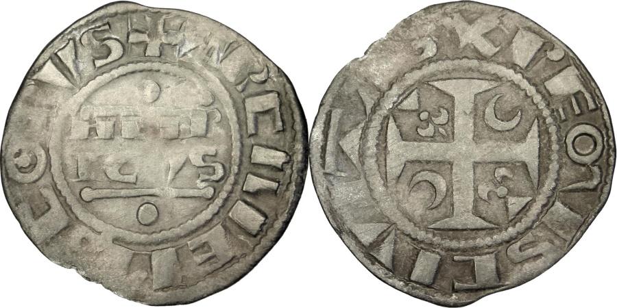 World Coins - FRANCE, Denarius, Reims, , Silver, 0.79