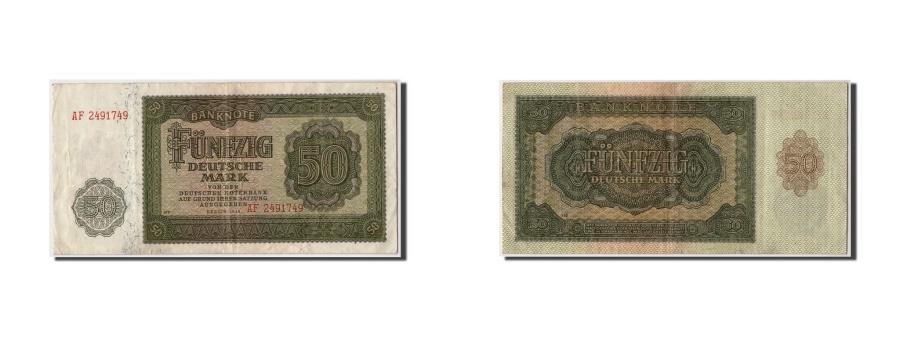World Coins - Germany - Democratic Republic 50 Deutsche Mark,1948,KM:14b,Undated,VF(30-35)