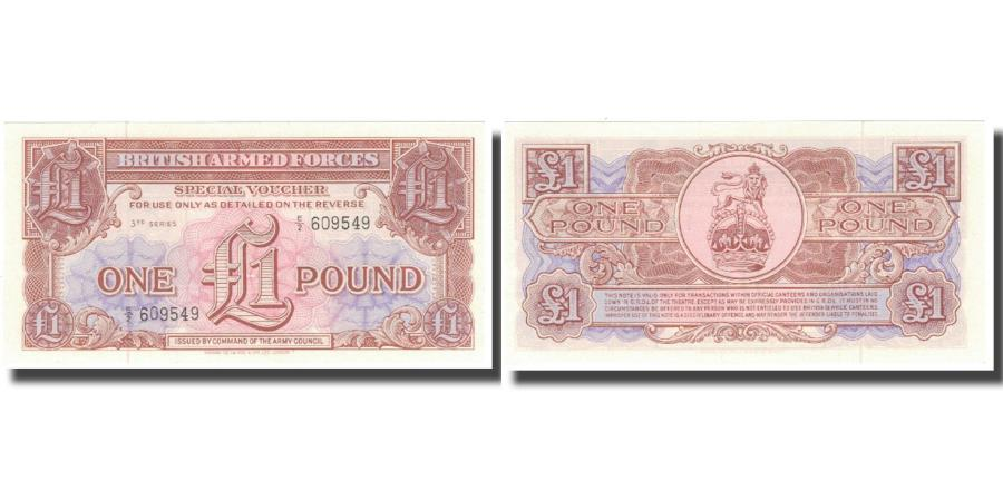 World Coins - Banknote, Great Britain, 1 Pound, Undated (1956), KM:M29, UNC(65-70)