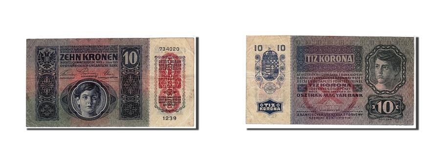 World Coins - Austria, 10 Kronen, 1915, KM #51a, EF(40-45), 734020