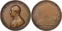 World Coins - France, Medal, Napoléon, Paix de Lunéville, An IX (1801), AU(50-53), Bronze