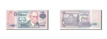 Uruguay, 10 Pesos Uruguayos, 1998, KM:81a, AU(55-58)
