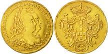 World Coins - Brazil, Maria I and Pedro III, 6400 Reis, 1784, Rio de Janeiro, AU(50-53), Gold