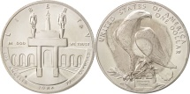 Us Coins - United States, Dollar, 1984, U.S. Mint, Philadelphia, MS(63), Silver, KM:210