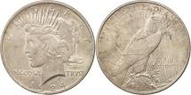 Us Coins - United States, Peace Dollar,1924, Philadelphia, EF(40-45), KM 150
