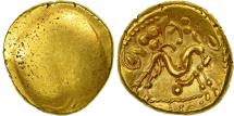 Coin, Ambiani, Stater, MS(60-62), Gold, Delestrée:238