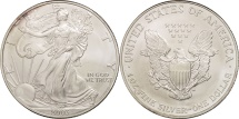 Us Coins - United States, Dollar, 2003, U.S. Mint, Philadelphia, MS(64), Silver, KM:273