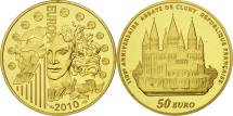 World Coins - France, 50 Euro, Europa, 2010, MS(65-70), Gold, KM:1679