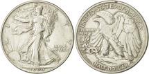 Us Coins - United States, Walking Liberty Half Dollar, Half Dollar, 1944, U.S. Mint